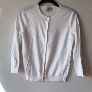 Ann Taylor LOFT 100% Cotton 3/4 Sleeved Cardigan
